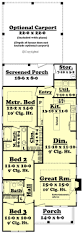 40 ft house floor plans with master on first width 40 free