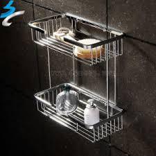 china stainless steel bathroom shower towel rack in bathroom