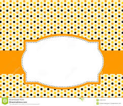halloween paper border halloween polka background stock photo image 24201470