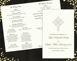 classic wedding programs 100 wedding programs ornate classic tri fold