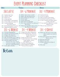preparation of event plan for wedding this pin is an event checklist it tells you what should be