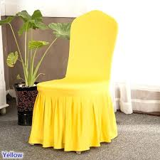 yellow chair covers yellow chair slipcover yellow dining chair covers rkpi me