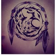 amazing wolf dreamcatcher designs design idea