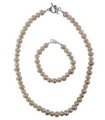 Buy Alankruthi Pearl Necklace Set Buy Alankruthi Pearl Necklace Set 4 Online