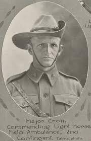2nd Light Colonel David Gifford Croll 2nd Light Horse Field Ambulance