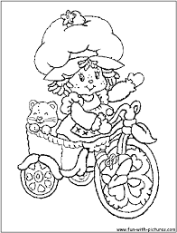 shortcake coloring page