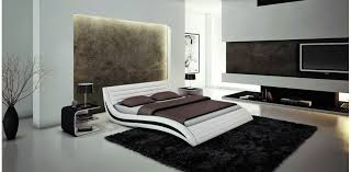 Simple Bedroom Designs Pictures Contemporary Simple Bedroom Design With White Cushioned