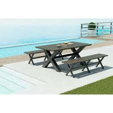 Teal Dining Table Patio Dining Tables Patio Tables The Home Depot
