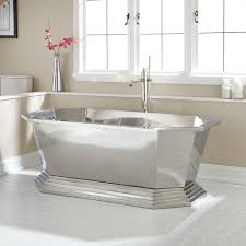 Cast Iron Bathtubs Home Depot Bathroom Stylish And Durable Stainless Steel Bathtub U2014 Emdca Org