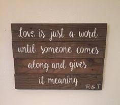 Wedding Quotes On Wood Large Wood Sign Bless The Food Before Us The By Dustinshelves