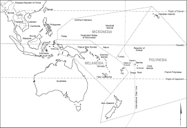 Map Of Pacific Islands Mobility Climate Change And Development In Pacific Small Island