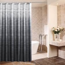 eforcurtain home fashion shower curtain ombre striped waterproof