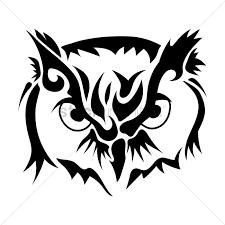 tribal owl tattoo download tattoo design vector danielhuscroft com