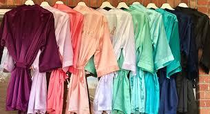 bridesmaid satin robes satin bridesmaid robes personalized satin robes custom