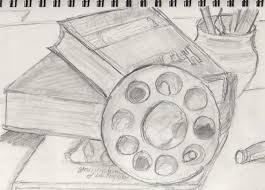 tag easy still life drawing ideas drawing sketch library