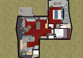 guest house floor plans 500 sq ft fascinating small house plans 500 square feet images ideas house