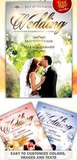 wedding poster template 70 best free flyer psd templates designmaz