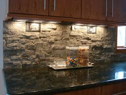 Stacked Stone Backsplash Contemporary Kitchen Cleveland By - Layered stone backsplash