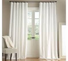 White Silk Curtains Drapery Panels Silk Drapes Silk Curtains Pottery Barn