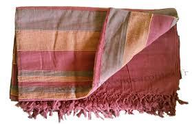 grand jeté de canapé tenture kérala plaids couvre lits jetés de canapé provence