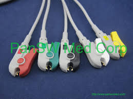 ecg color coding leadwires
