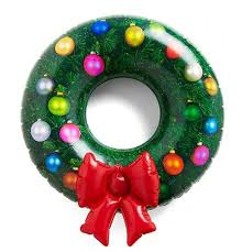 wreath amazon com dci inflatable wreath home u0026 kitchen