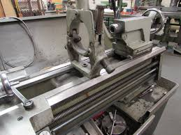 colchester gap bed centre lathe model triumph 2000 on auction