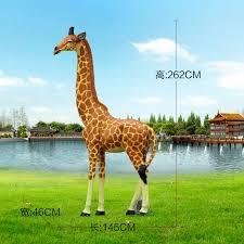 Villa Park Landscape by Large Scale Simulation Giraffe Garden Ornaments Decorations