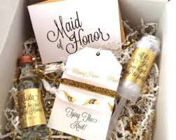 will you be my of honor gift bridesmaid gift box sets will you be my of honor