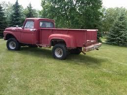 Ford F350 4x4 Trucks - 1963 ford f350 4x4 collectors mud truck sfa