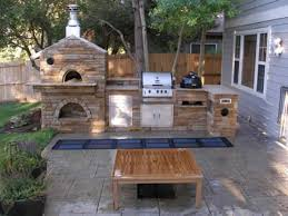 outdoor kitchen designs with pizza oven download outdoor fireplace