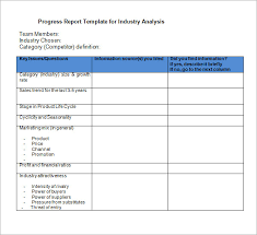 trend analysis report template sle industry analysis templates 8 free documents in pdf word