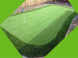 Backyard Putting Green Installation by Putting Greens Golf Putting Greens Texas Grass