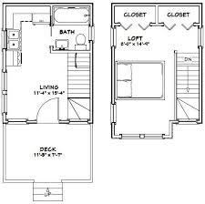 tiny plans 12x16 tiny house 12x16h6 367 sq ft excellent floor plans