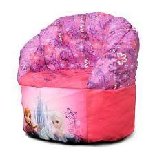 disney frozen elsa anna bean bag chair for toddler kids girls pink