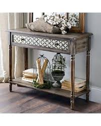 natural wood console table distressed console table distressed console table be equipped