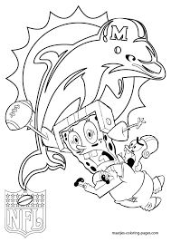 miami dolphins coloring pages fablesfromthefriends