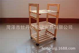 imported pine wine rack trolley wheeled carts professional