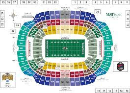 baltimore ravens m u0026t bank stadium stadium diagrams