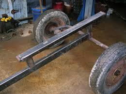 building a small log splitter beckmannag