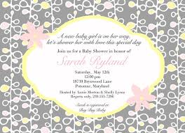 Words For A Wedding Invitation Baby Shower Invitation Wording Ideas Baby Shower Invitation