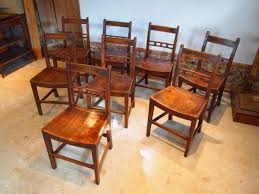 chairs 8 east anglian ash and elm ball back windsor dining chairs