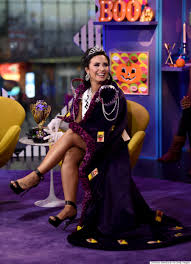new york city halloween 2015 demi lovato dresses up as a u0027trap queen u0027 for halloween and it u0027s