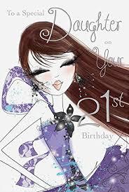 daughter 21st birthday card jonny javelin https www amazon co uk