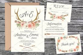 Thailand Wedding Invitation Card Wedding Invite Suite Templates 03 Invitation Templates
