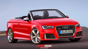 audi rs3 cabriolet audi rs3 cabriolet rendered would you buy one autoevolution