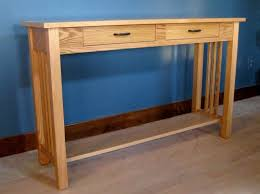 Oak Sofa Table Sofa Table W 2 Drawers