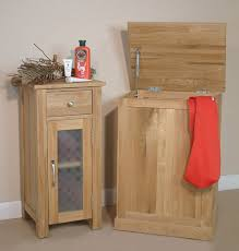 White Wood Free Standing Bathroom Storage Cabinet Unit by Oak Bathroom Storage Cabinet Cupboard Free Standing Small Unit