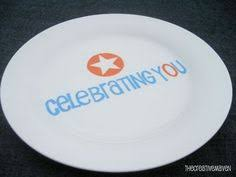 celebration plates this celebration plate use whenever someone in the family