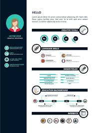 Infographic Resume Template Free Download Download A Free Infographic Resume No Strings Attached